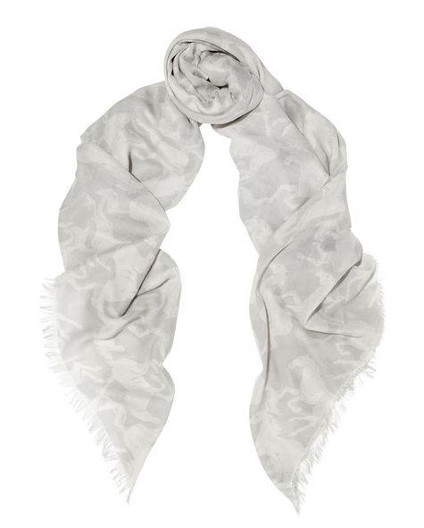 New Coat: Stella McCartney printed voile scarf / Garance Doré