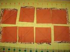 tutorial de patchwork hacer triangulos por metodo de cuadricula.wmv - YouTube