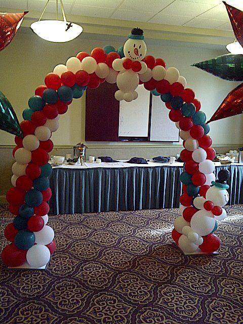 Imagen encontrada en - Decoracion de navidad con globos ...