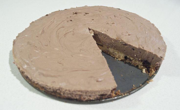Keto Chocolate Cake Recipe With Almond Flour: Keto Chocolate Cheesecake With Almond Base Crust