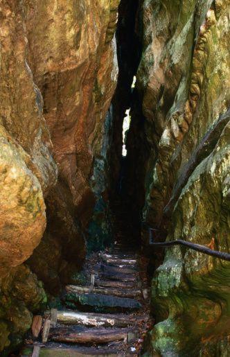 Echternach Wolfschlucht Mullerthal Trail