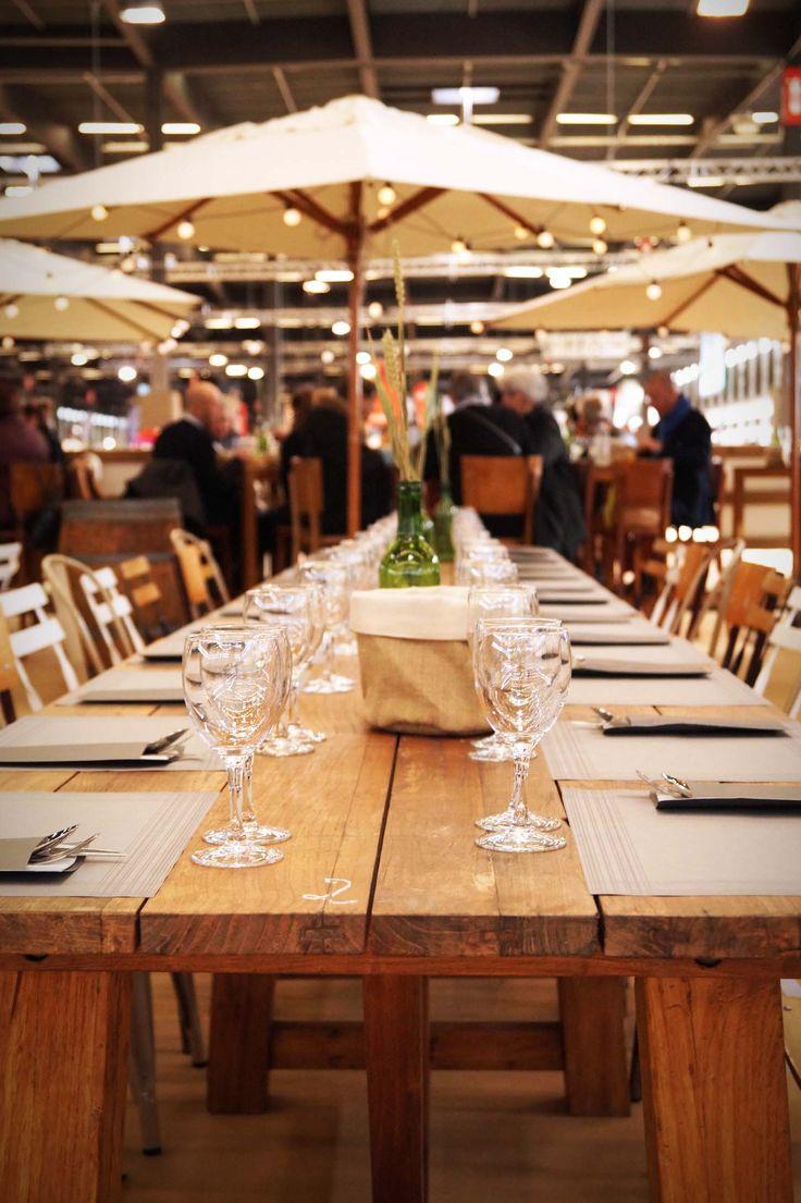 Ambiance bois et vignobles au restaurant L'Oxer pour le Jumping de Bordeaux
