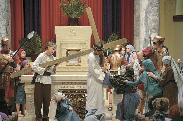 Living Stations of the Cross links the past to the present