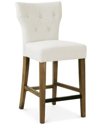 Dan Tufted Counter Stool Quick Ship In 2019 Furniture