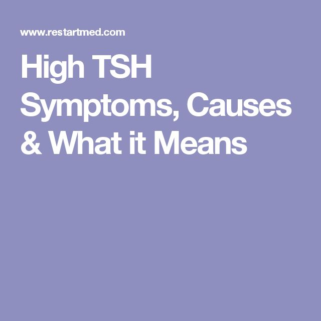 High tsh contribute to high estrogen