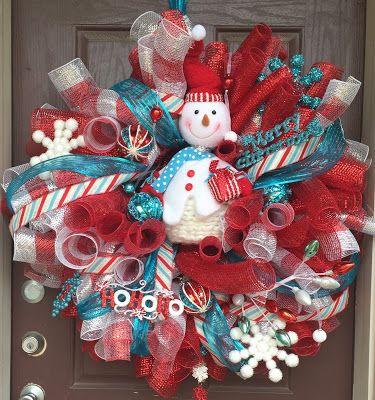 25+ unique Snowman wreath ideas on Pinterest  Diy christmas wreaths, Holiday wreaths and ...