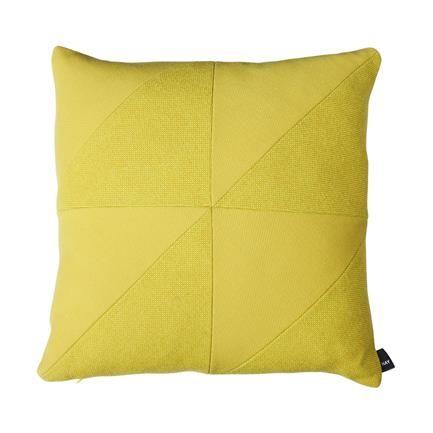 Puzzle Mix Cushion, lemon, Hay, Hay