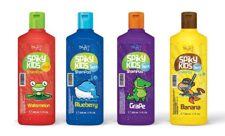 Diseño de Shampoo para Niños