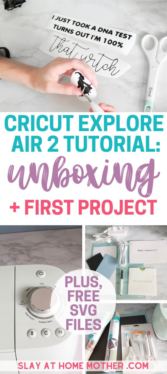 Cricut Explore Air 2 Review, How To Use, & My First
