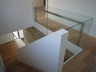 Parket op loopbrug met witt mdf mooi dag huis pinterest bedrooms - Huis trap ...