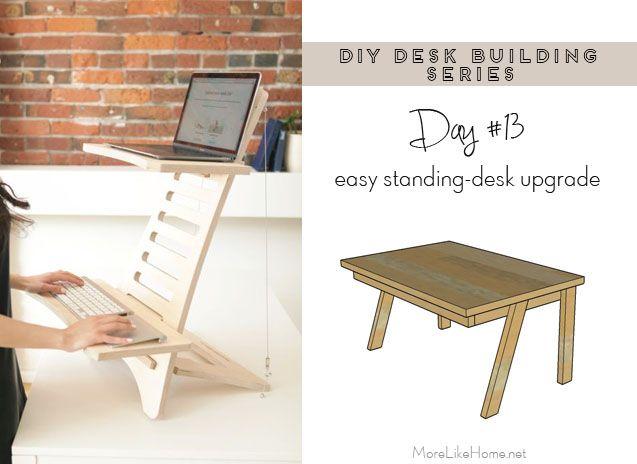 Diy Desk Series 13 Standing Desk Conversion Platform In 2020 Diy Standing Desk Standing Desk Conversion Standing Desk Platform