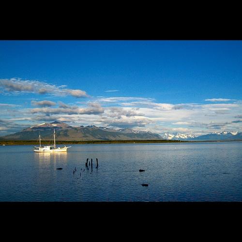 morning calm, Puerto Natales