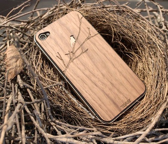 Bird iPhone Cover.: Iphone Cases, Wooden Iphone, Iphone Covers, Wood Covers, Wood Iphone, Woods, Products