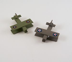 Making your own toys is a blast! | Clothespin Military Airplanes