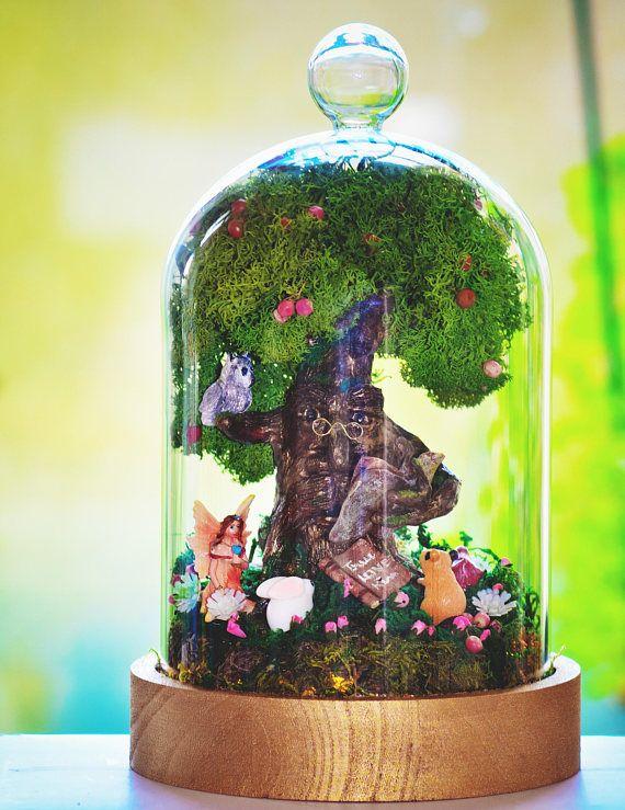 Fairy Garden Kit With Glass Dome Miniature Garden Fairy