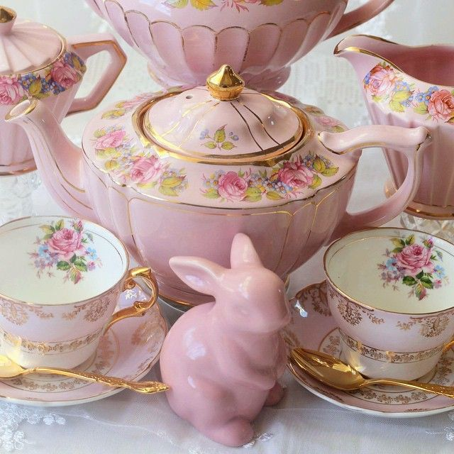 Pink Spring Tea Party!