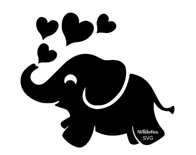 36++ Baby elephant clipart silhouette ideas in 2021