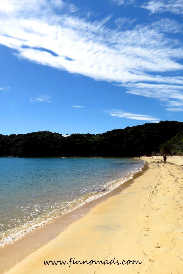 The perfect beaches of Abel Tasman National park. #newzealand #travel #beach