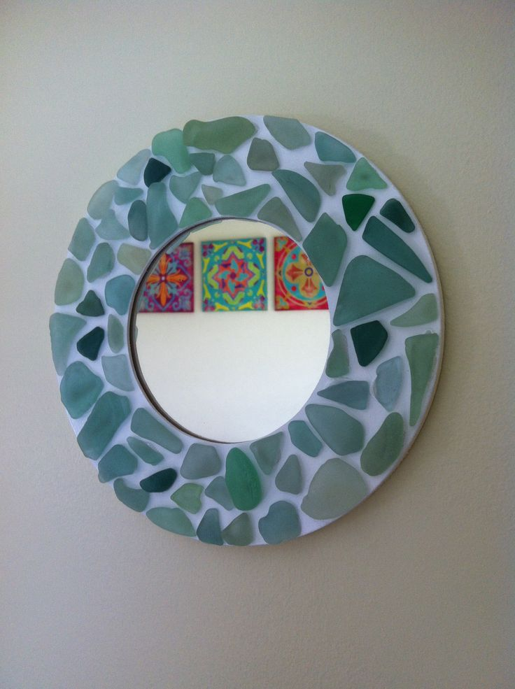28 curated sea glass crafts ideas by glendaandrews for Glass and mirror craft