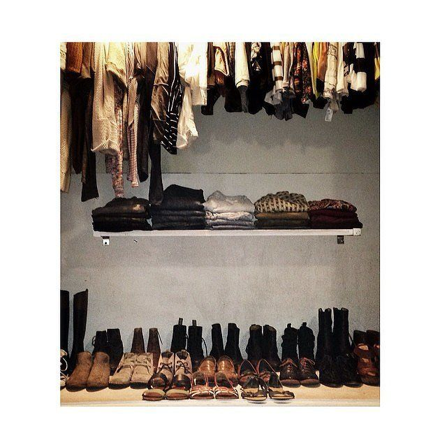 Not only is this closet maven superorganized (major points), but she | The Real-Girl Closets You Can Actually Copy | POPSUGAR Home