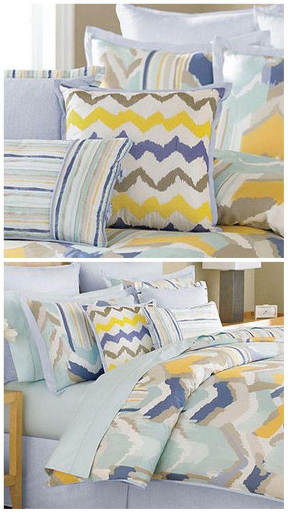 chevron comforters #chevron #bedding #backtoschool