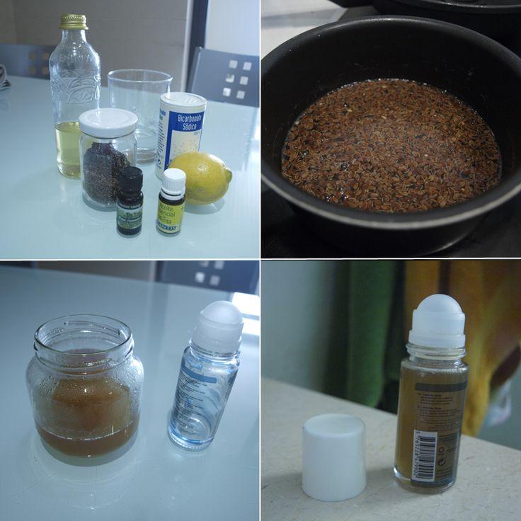 Desodorante casero y natural