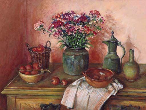 Still Life on Dresser - Margaret Olley