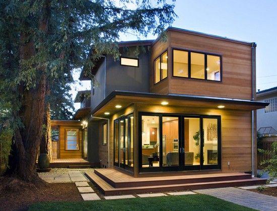 современные дома со скатной крышей - Поиск в Google