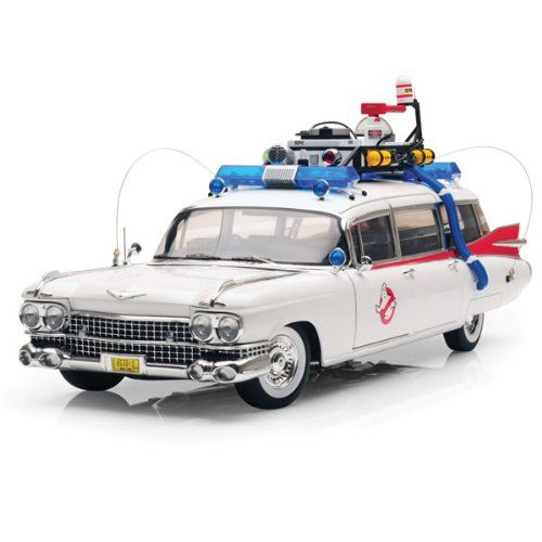 1/18 59 Cadillac Ghostbusters Ecto-1 @ niftywarehouse.com #NiftyWarehouse #Ghostbusters #Movie #Ghosts #Movies #Film