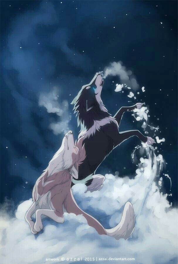 First Lesson By Azzai On DeviantART Anime Wolves T