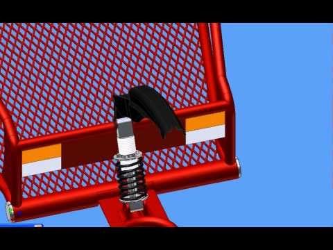 CREAMEX JRJ - Remolque para moto  cap 100 kg. - YouTube