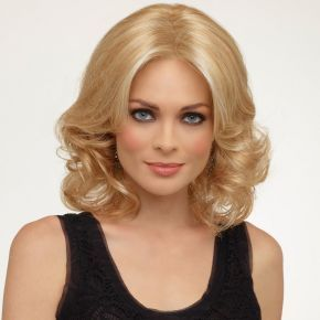 Curly wigs can be a quandry for wigmakers as they can be difficult to create a completely, natural looking style. The Daffodil wig from Natural Collection though stands alone as one of the most natural 'softly curled' wigs that we have on the Simply