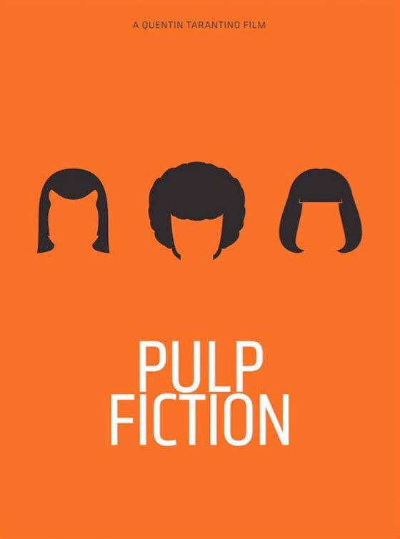 Pulp Fiction Poster by Pedro Vidotto