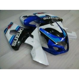 Suzuki GSX-R 600/750 2004-2005 K4 Injection ABS Fairing - Others - white/black body with blue headlight | $639.00