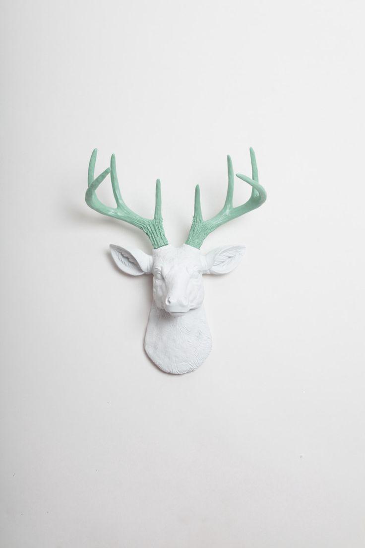 1000+ ideas about Animal Head Decor on Pinterest   Pink room ...