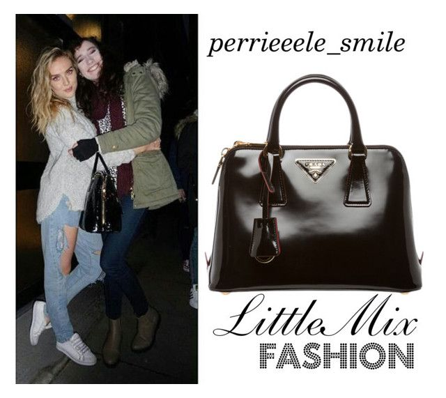 """Untitled #700"" by little-mix-are-babes on Polyvore featuring Prada, women's clothing, women, female, woman, misses and juniors"