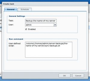 How to backup an external server with a Synology NAS using rsync – Raphael Kallensee #nas #remote #backup http://invest.nef2.com/how-to-backup-an-external-server-with-a-synology-nas-using-rsync-raphael-kallensee-nas-remote-backup/  # Journal How to backup an external server with a Synology NAS using rsync I recently bought a Synology NAS and I m mostly happy with it. Additionally I bought a Raspberry Pi and installed Raspbmc on it this made my setup at home even better. Recently I thought…