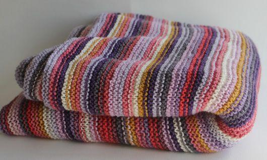 Knitted blanket. Garn-iture design www.garn-iture.dk