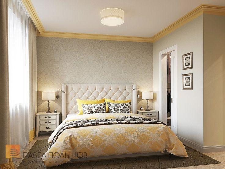 Фото: Спальня - Интерьер квартиры в стиле легкой классики, ЖК «Академ-Парк», 68 кв.м.