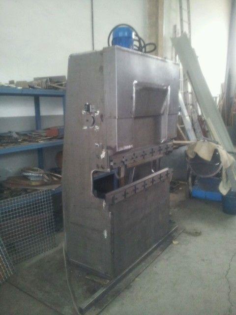 Plegadora Hidra 250 Lica Casera Blacksmith Foundry