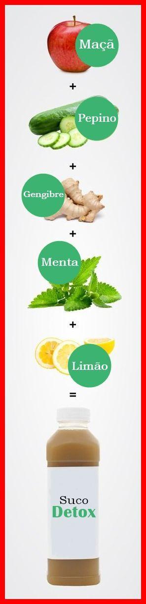 Receita de Suco Detox Para Emagrecer #emagrecer #adelgazar #sucoverde #juice #receita