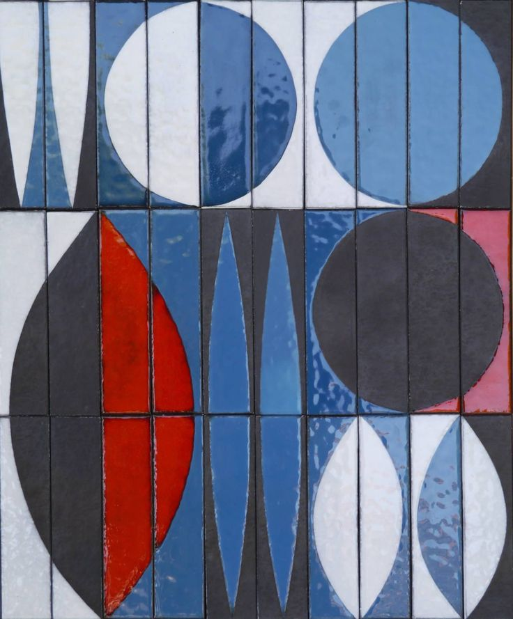 Ceramic Panel by Roger Capron, circa 1960   From a unique collection of antique and modern decorative art at https://www.1stdibs.com/furniture/wall-decorations/decorative-art/