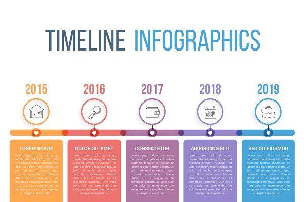Timeline Infographics Frise Chronologique Design Frise Chronologique Graphique Frise Chronologique