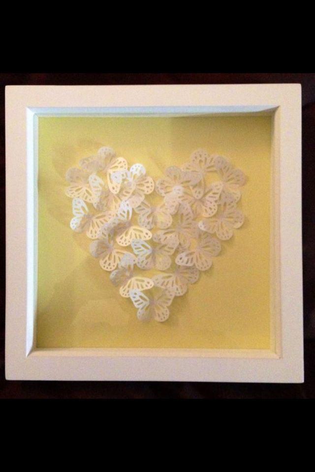 Papercraft butterflies
