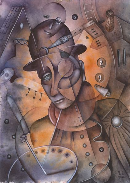 Gentleman With A Monocle by Eugene Ivanov, watercolor on paper, 29 X 41 cm, SOLD. #eugeneivanov #@eugene_1_ivanov #modern #original #oil #watercolor #painting #sale #art_for_sale #original_art_for_sale #modern_art_for_sale #canvas_art_for_sale #art_for_sale_artworks #art_for_sale_water_colors #art_for_sale_artist #art_for_sale_eugene_ivanov