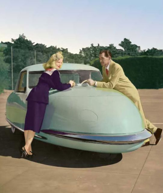 Flying Cars #flyingcar, retro-futuristic car. For interesting news and driving tips visit: http://www.myimprov.com/blog/