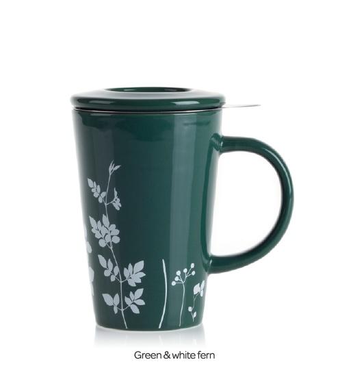 The Perfect Tea Mug (Prints) - Tea Mug With Stainless Steel Infuser   DavidsTea