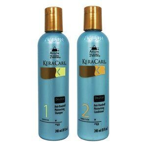 Avlon Keracare Dry & Itchy Scalp Shampoo & Conditioner.  http://www.dryscalpgone.com/avlon-keracare-dry-itchy-scalp-shampoo-conditioner-review/