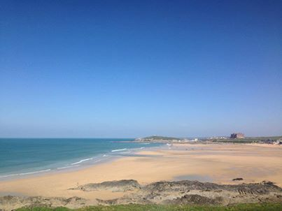 View from the hotel today #fistralbeachhotel #fistralbeach #newquay #summerishere