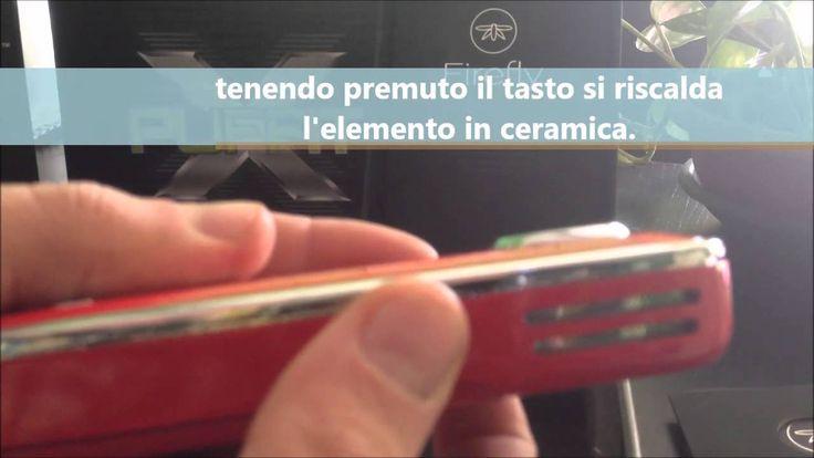 Vaporizzatore portatile a convezione FIREFLY New and Hot!!! Per ordine entro il 15 Dicembre consegna prima di Natale!!! Affrettatevi quantità limitate www.dgitaly.net